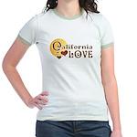 California Love Jr. Ringer T-shirt