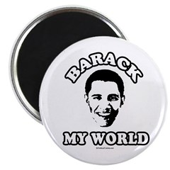 Barack my world Magnet