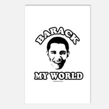 Barack my world Postcards (Package of 8)