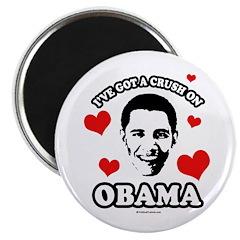 I've got a crush on Obama Magnet