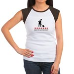 Archaeology (red stars) Women's Cap Sleeve T-Shirt