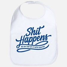 Shit Happens Bib
