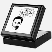 Obama for Peace Keepsake Box