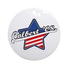 Colbert '08 Ornament (Round)