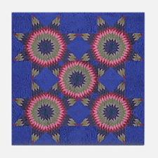 Quilt Tile Coaster