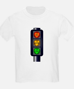 Yes No Maybe Traffic Lights T-Shirt