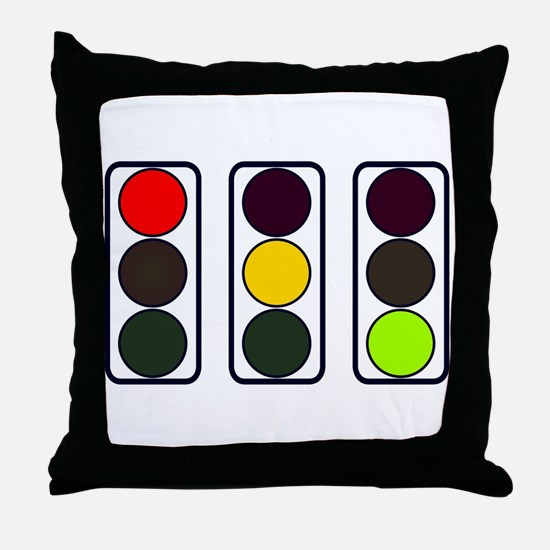Funny Stop sign Throw Pillow
