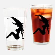 Mudflap girl Drinking Glass