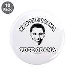 End the drama, Vote Obama 3.5