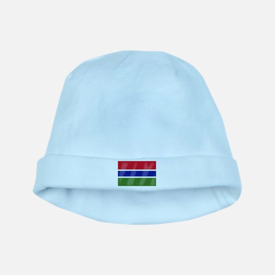 Gambia Flag baby hat