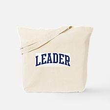 LEADER design (blue) Tote Bag