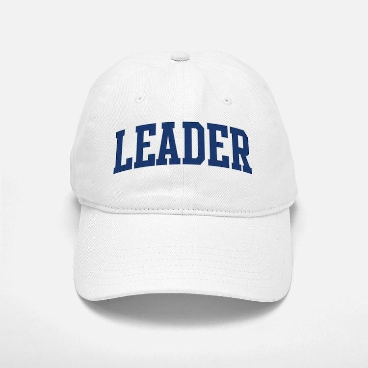 LEADER design (blue) Baseball Baseball Cap