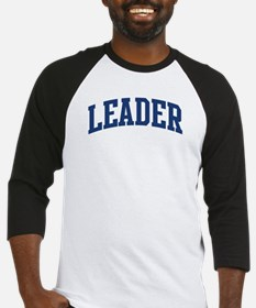 LEADER design (blue) Baseball Jersey