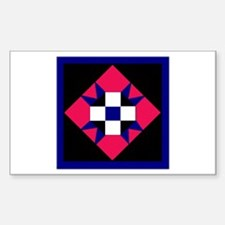 Quilt Rectangle Decal