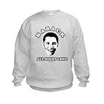 Barack all night long Kids Sweatshirt