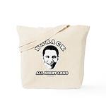 Barack all night long Tote Bag
