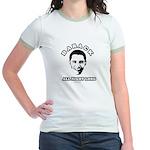 Barack all night long Jr. Ringer T-Shirt