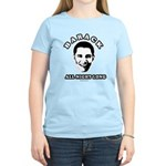 Barack all night long Women's Light T-Shirt