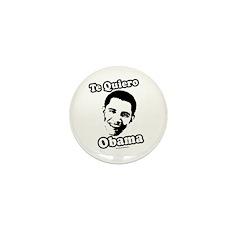 Te Quiero Obama Mini Button (100 pack)