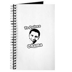Te Quiero Obama Journal