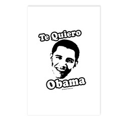 Te Quiero Obama Postcards (Package of 8)