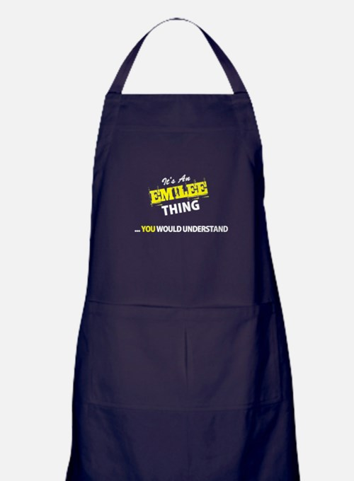 EMILEE thing, you wouldn't understand Apron (dark)
