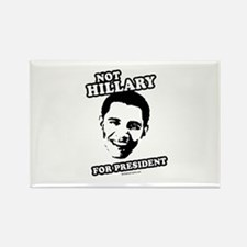 Not Hillary for President Rectangle Magnet