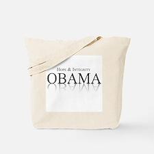 Obama 2008: Hope & Integrity Tote Bag