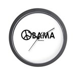 Obama 2008 for Peace Wall Clock