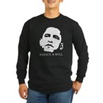 Obama 2008 for Peace Long Sleeve Dark T-Shirt