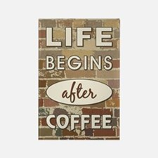 LIFE BEGINS AFTER... Magnets
