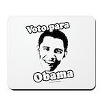 Voto para Obama Mousepad