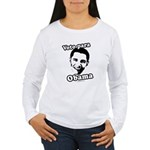Voto para Obama Women's Long Sleeve T-Shirt