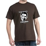 Voto para Obama Dark T-Shirt