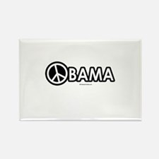 Obama for Peace Rectangle Magnet