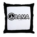 Obama for Peace Throw Pillow