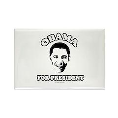 Obama for President Rectangle Magnet (10 pack)
