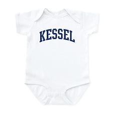 KESSEL design (blue) Infant Bodysuit
