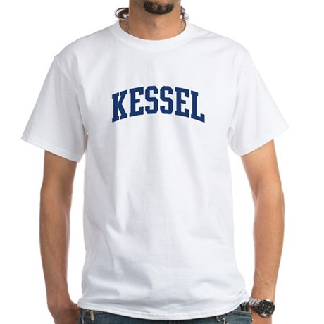 KESSEL design (blue) White T-Shirt