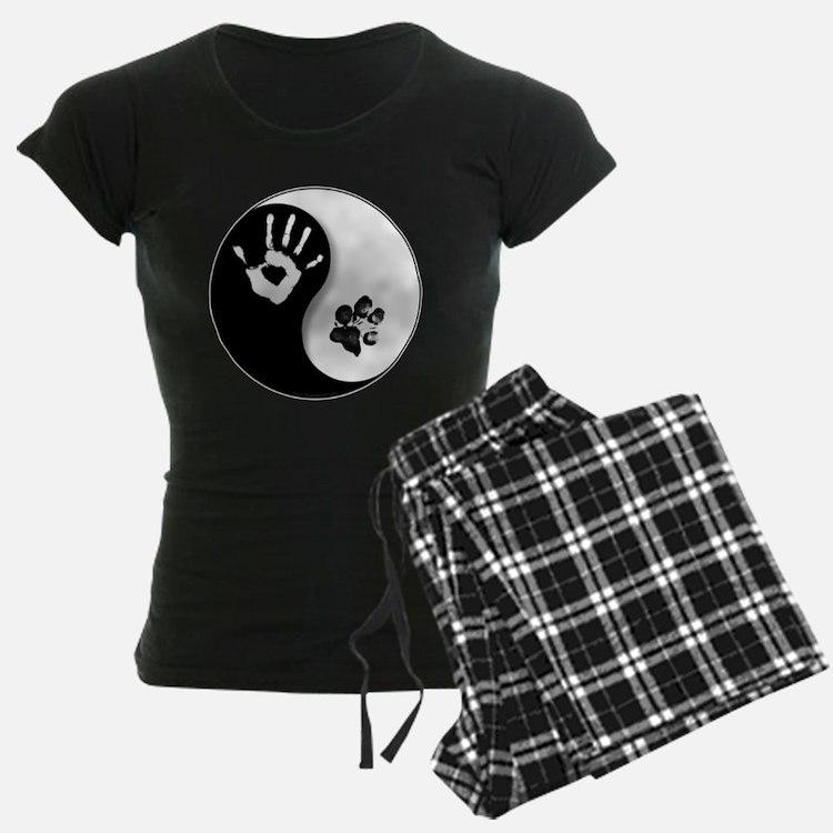 Cute Yin yang dog Pajamas