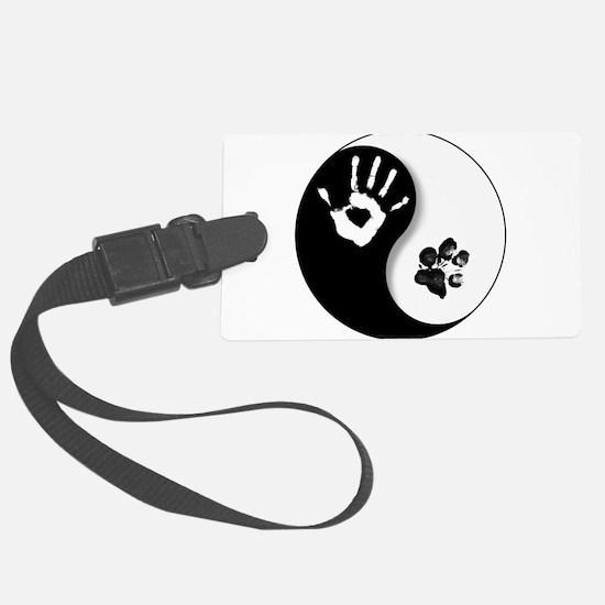 Unique Yin yang Luggage Tag