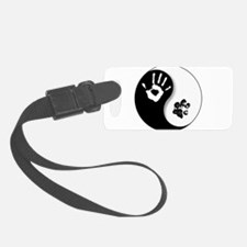 Unique Yin yang Luggage Tag