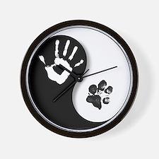 Unique Dog%27s best friend Wall Clock