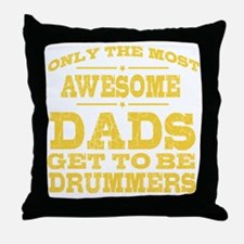 Unique Drummer Throw Pillow