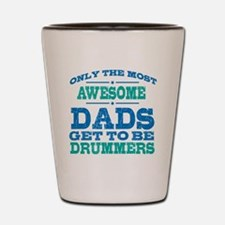 Cute Drummer Shot Glass