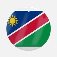 Namibia Flag Round Ornament