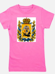 Cute Russian coat arms Girl's Tee