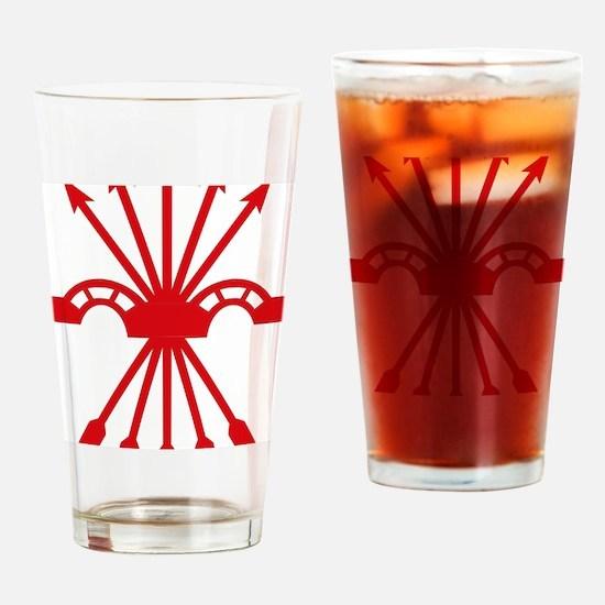 Cute Yugo Drinking Glass