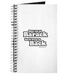 Once you go Barack you'll never go back Journal