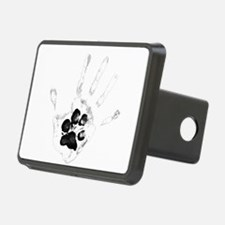Cute Ying yang paw hand Hitch Cover